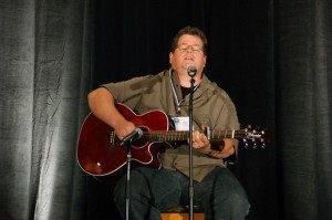 With deep emotion, Alan sings from his heart, as he strums his guitar and offers hope to bereaved families